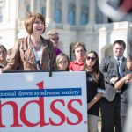 United States Representative Cathy McMorris Rodgers addresses National Down Syndrome Society members