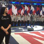 Newark Sign Language Interpreter Alexandria Wailes at Super Bowl