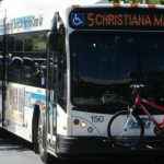 DART Bus on road