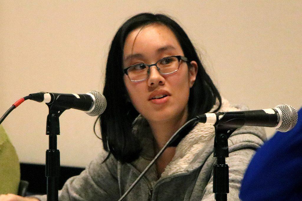 Self-advocate Catherine Lin