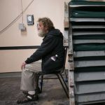 homeless man in Wilmington Delaware