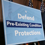 politicians defending pre-existing conditions protections