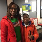 Sonya Lawrence and her son Xavier