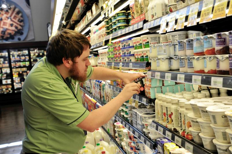 grocery store employee adam goss