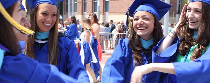 Disability Studies minor students at graduation