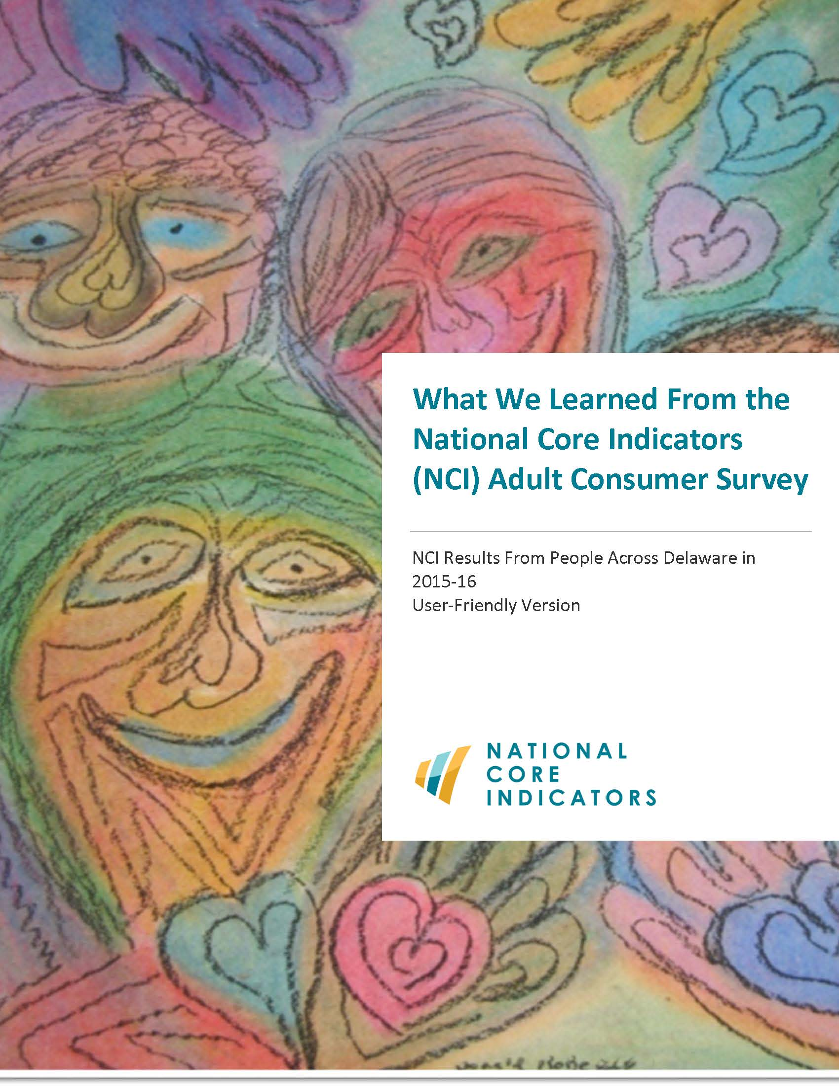 2015 2016 Delaware Adult Consumer Survey User Friendly Report