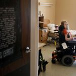 Korrie Johnson, who has cerebral palsy, spent months living in a nursing home because she was unable to find reliable home care.