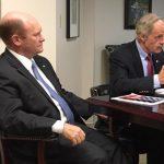Delaware US Senators Chris Coons and Tom Carper