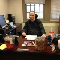 Delaware State Council for Persons with Disabilities Director John McNeal in his office