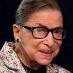 Former Supreme Court Justice Ruth Bader Ginsburg