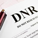 Form titled Do Not Resuscitate