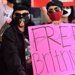 Protestors advocate for pop star Britney Spears to be removed from her conservatorship