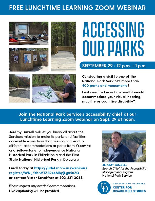 Access Parks Flyer